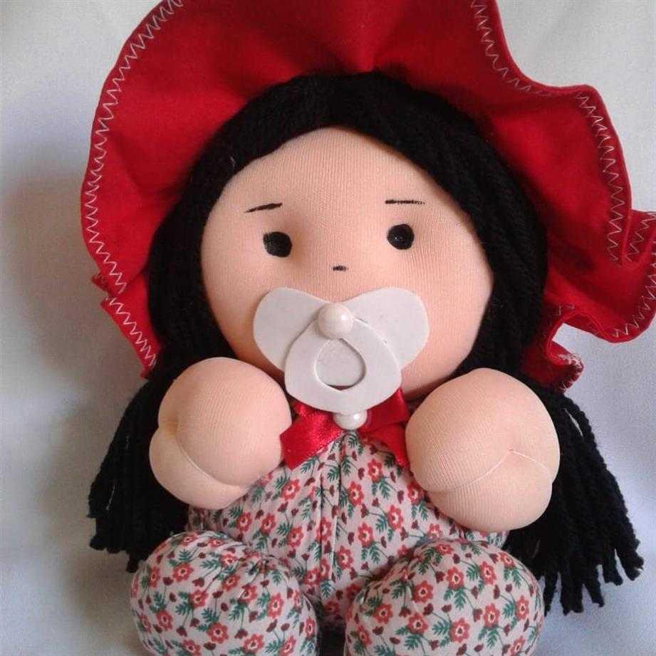 boneca de fuxico para bebe