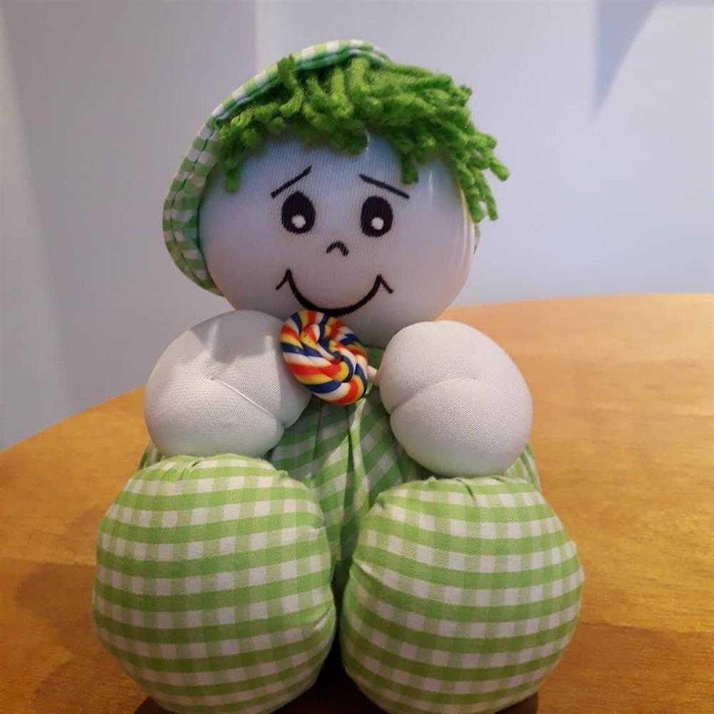 boneca decorativa de pano