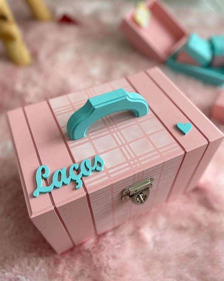 caixa porta laço
