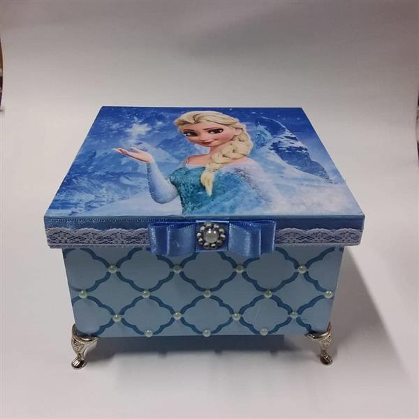 caixa de mdf frozen