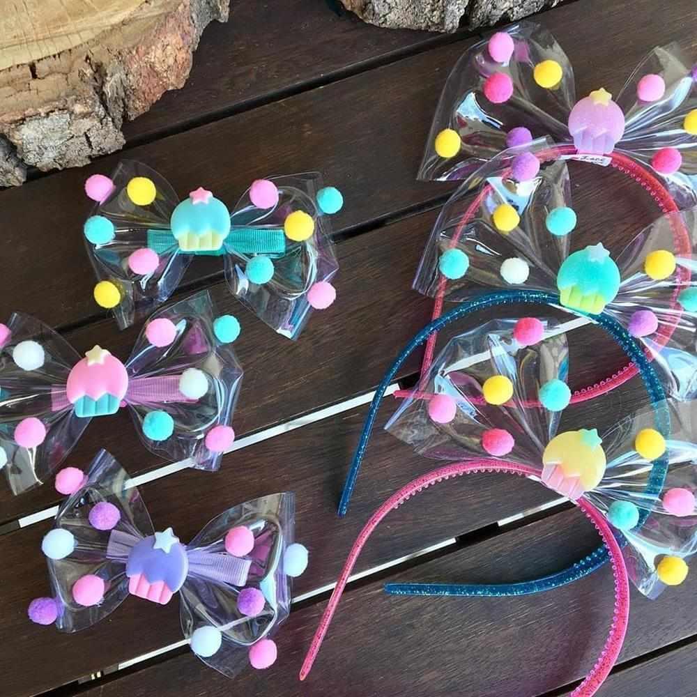 tiara artesanal de laço