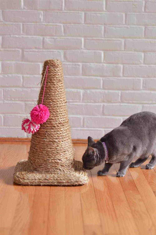 arranhado em cone