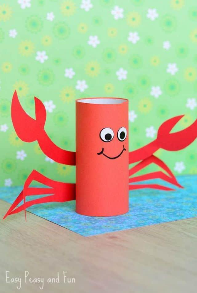 brinquedos-reciclados-rolo de papel
