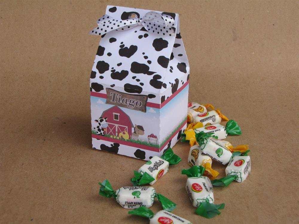 caixa de leite lembrancinha