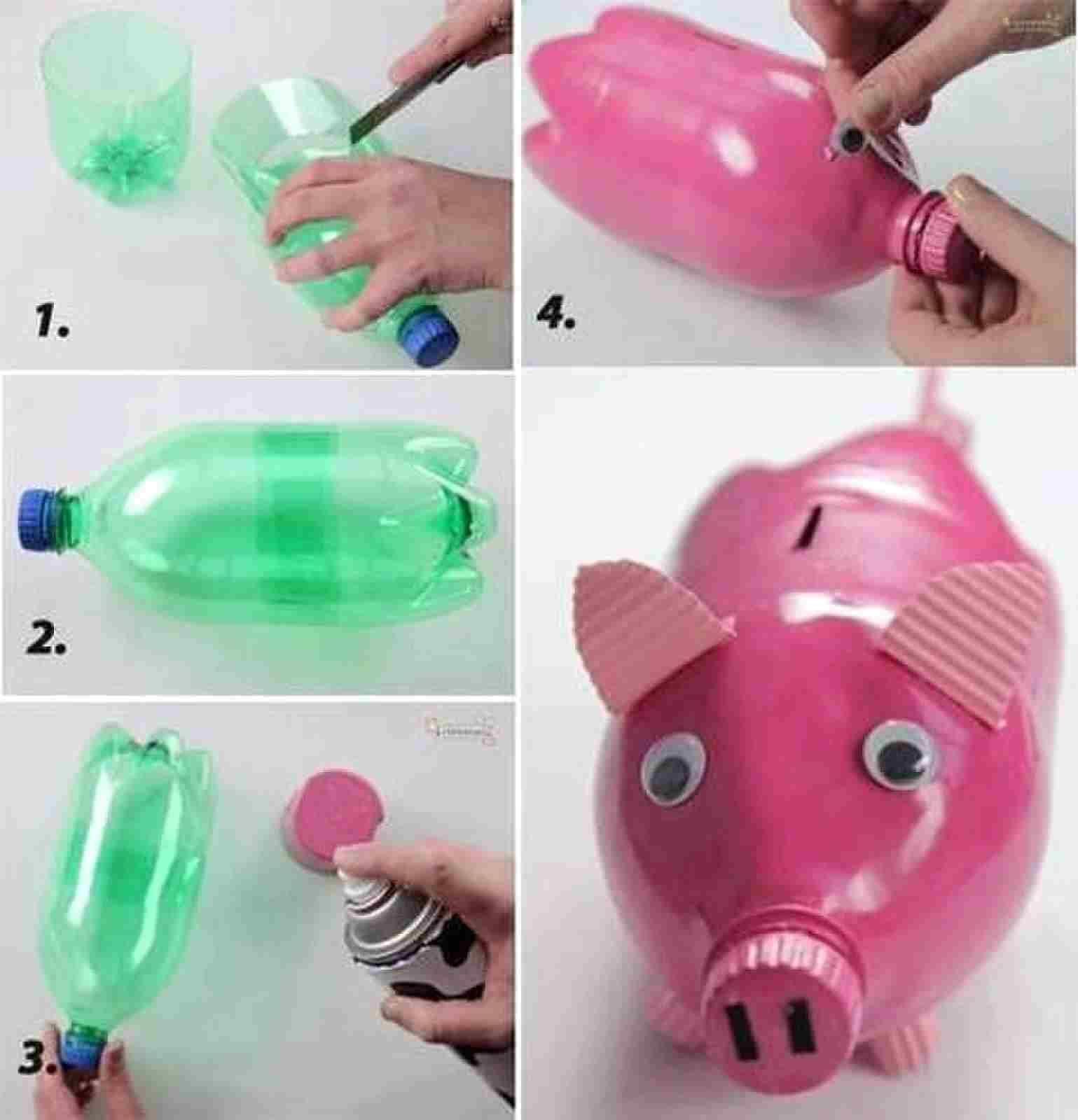brincadeiras para crianças com garrafa