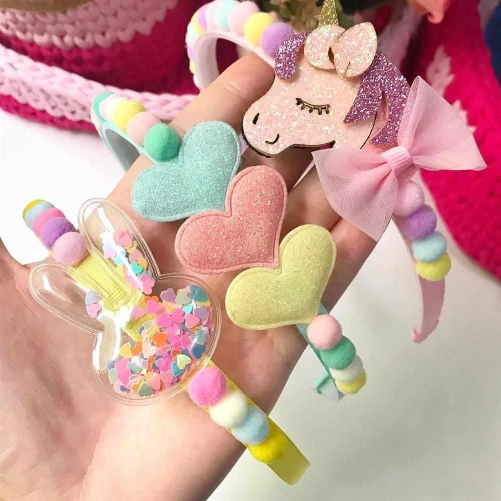 tiara infantil de unicornio