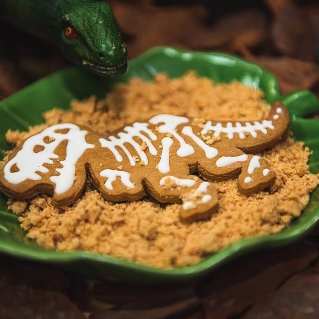 biscoitos dinossauro