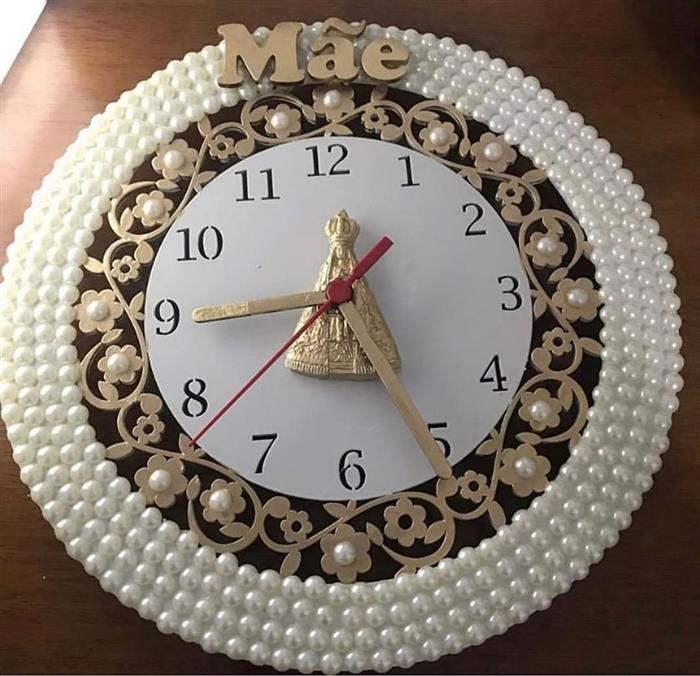 relógio dia das mães