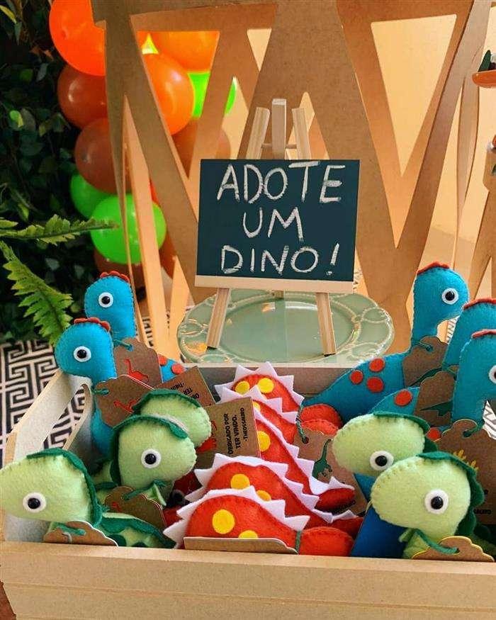 lembrancinha dinossauro