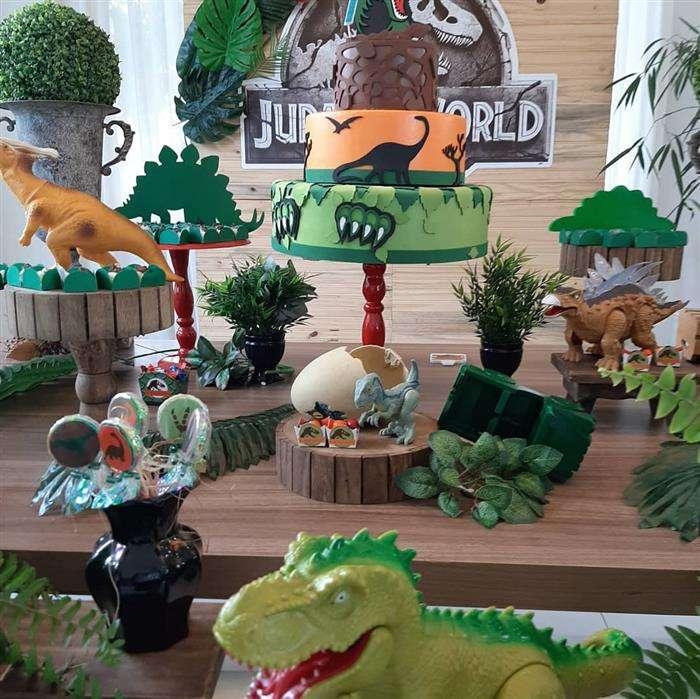 detalhes festa dinossauro