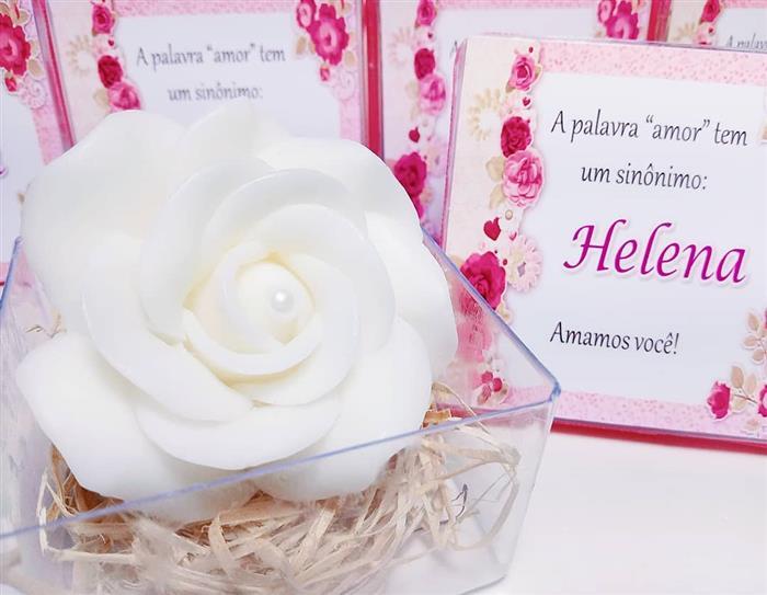 sabonete de flores