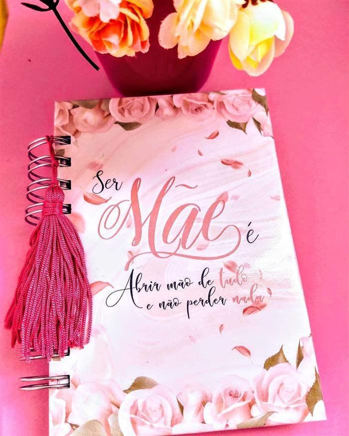 caderno dia das mães
