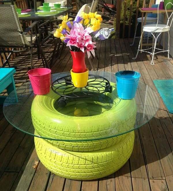 artesanato-com-pneus-e-vidro