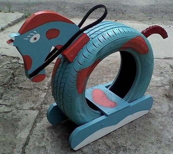 cavalinho de pneu