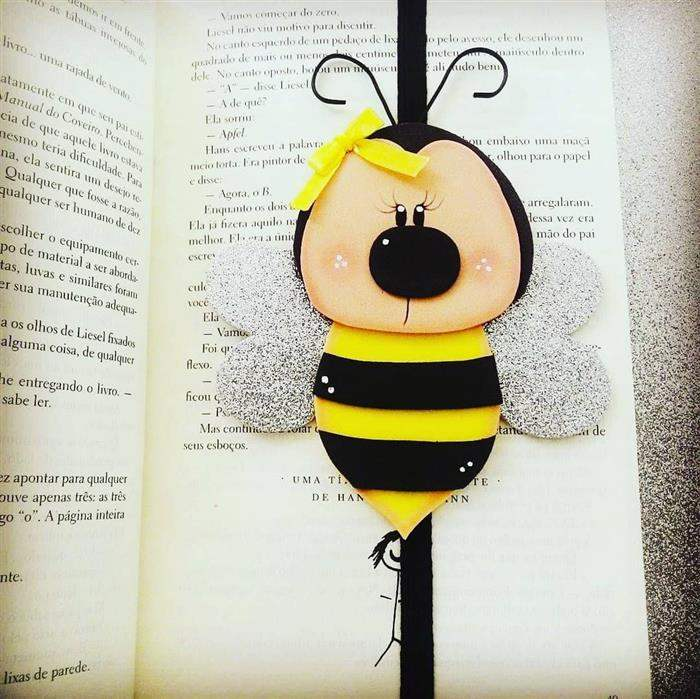marcador de abelhinha