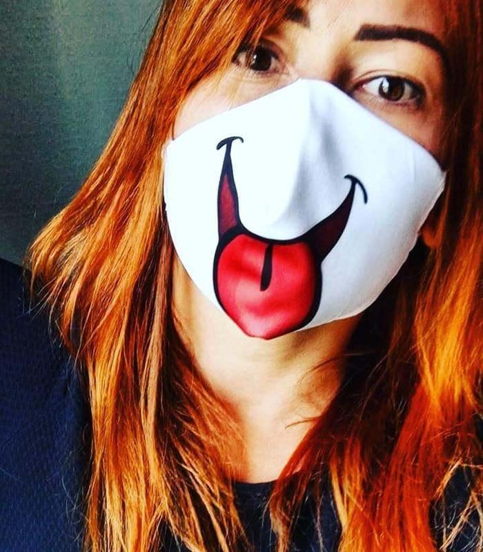 mascara de carinha