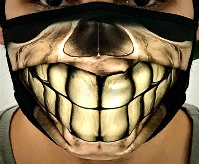 mascara de caveira