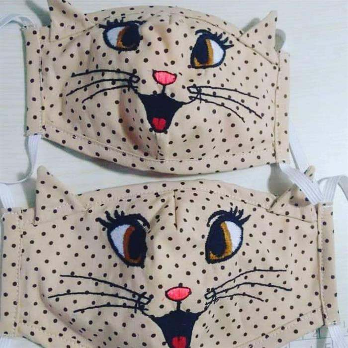 mascara de gatinho