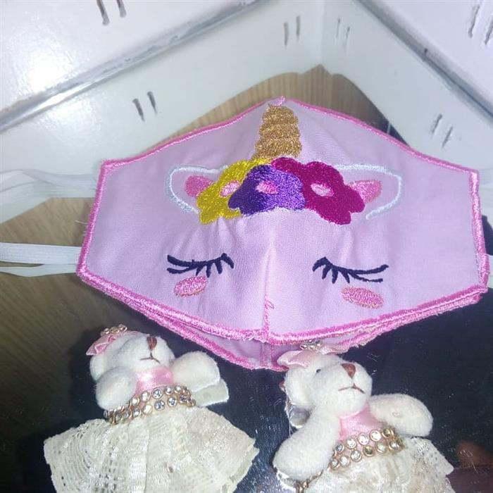 mascara de proteção unicornio