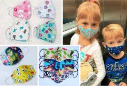 molde mascara infantil bico de pato com medidas para crianças