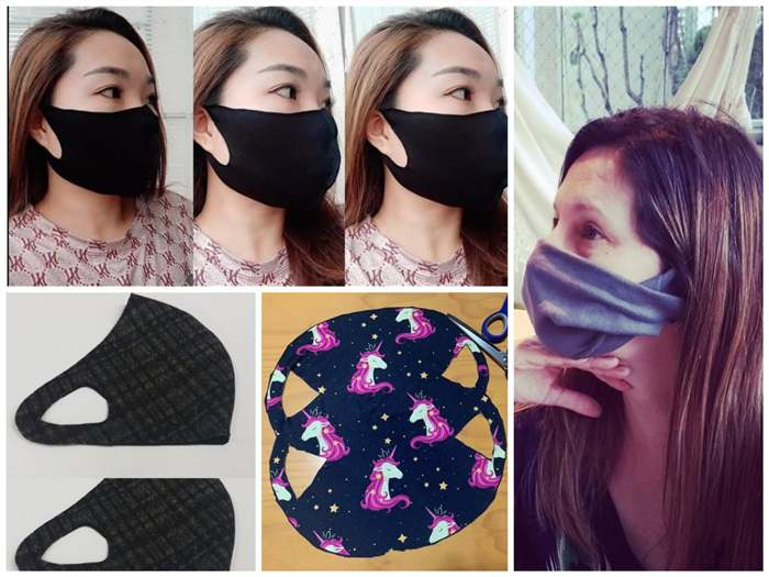 mascara protetora sem costura