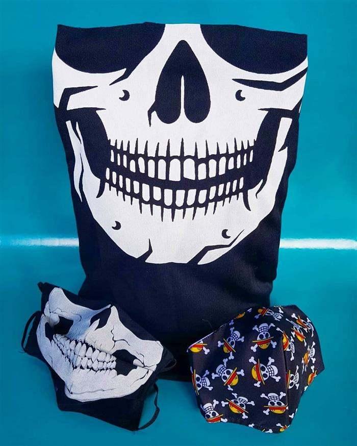 mascaras de caveira