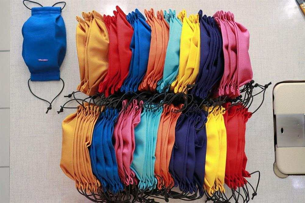 ideias de mascaras de tecido com elastico