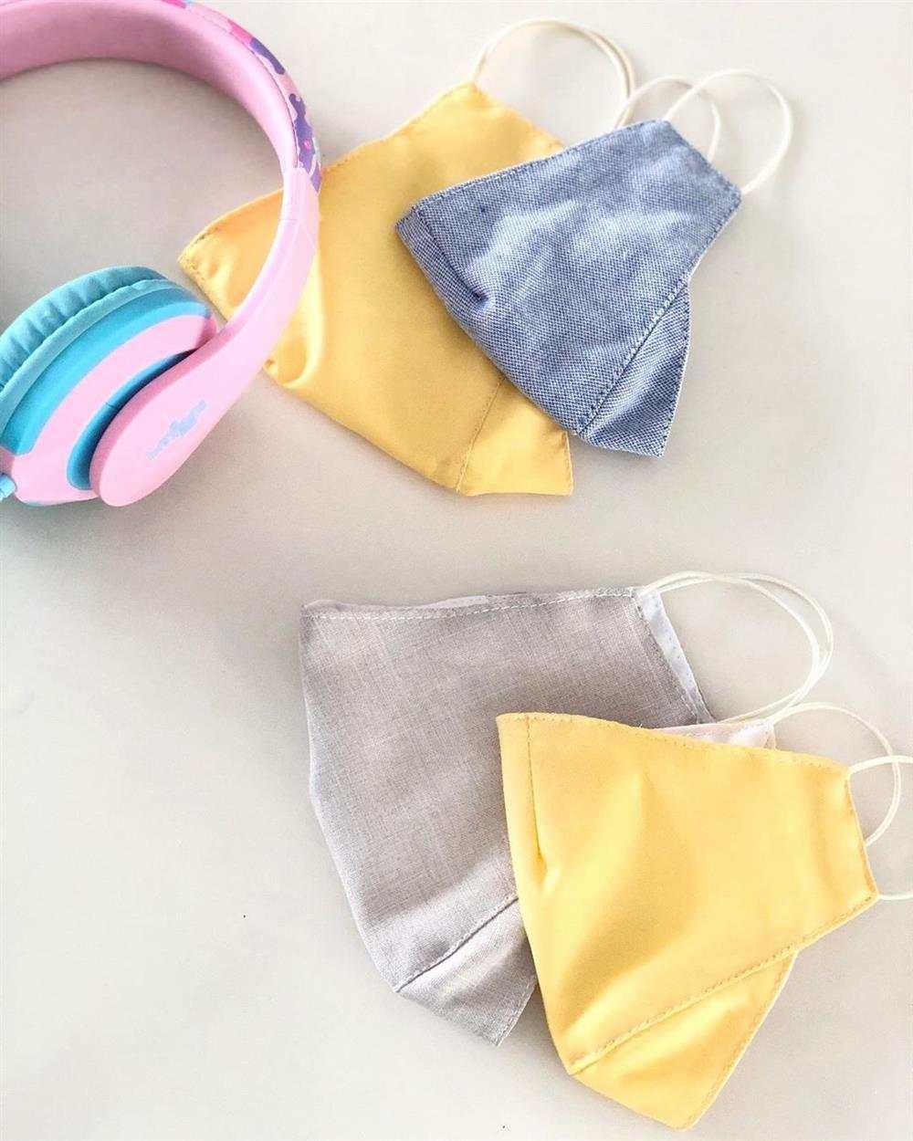 mascaras de tecido 3d