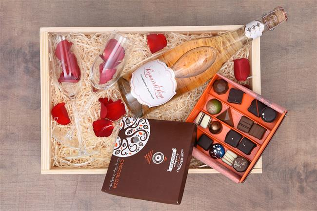 cesta de doces para namorada