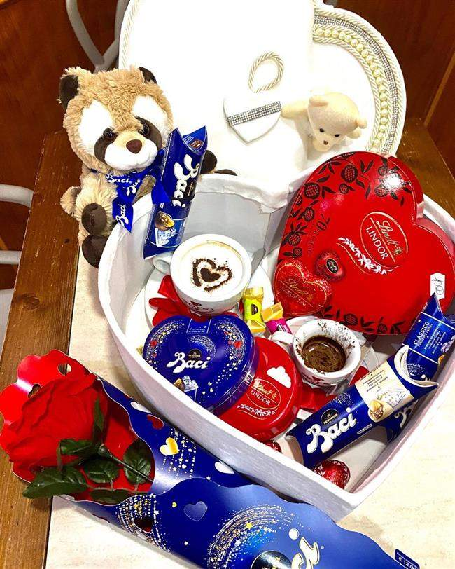 cesta namorados