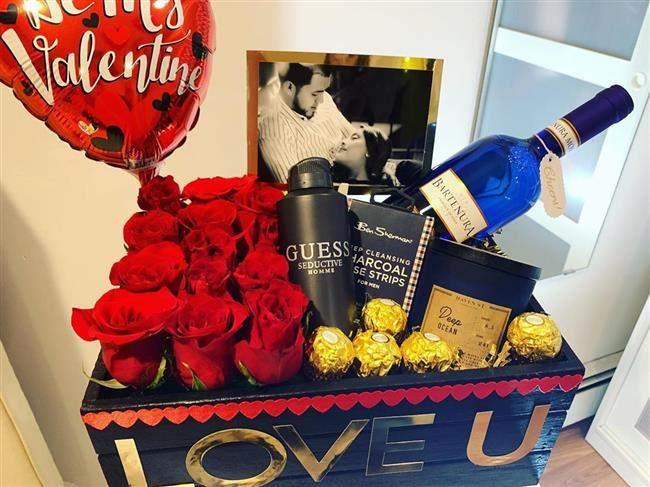 cesta para namorado criativa