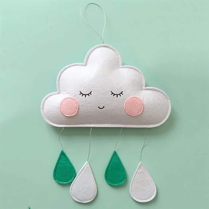 chaveiro de nuvem