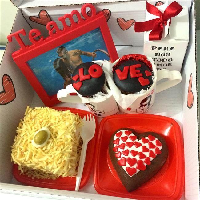 festa na caixa com love