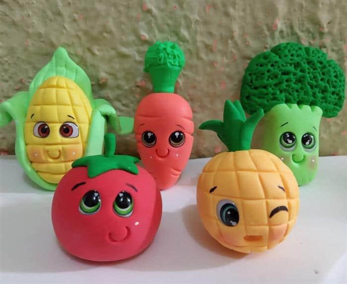 legumes de massinha