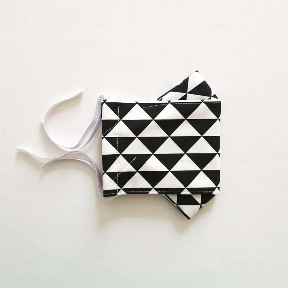 mascara de tecido 3d