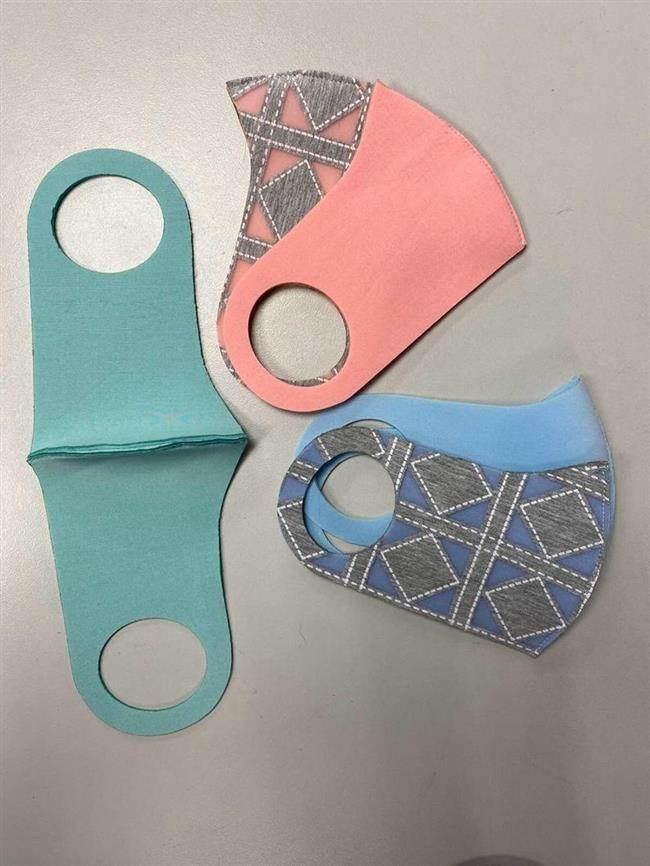mascara de proteção feita de neoprene