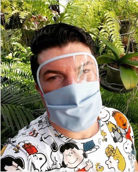 mascara proteção masculina