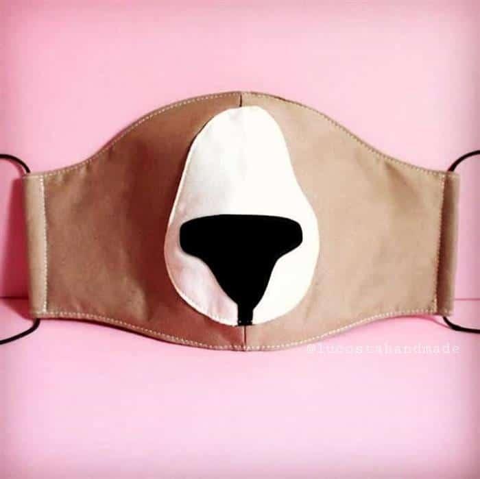 mascara urso