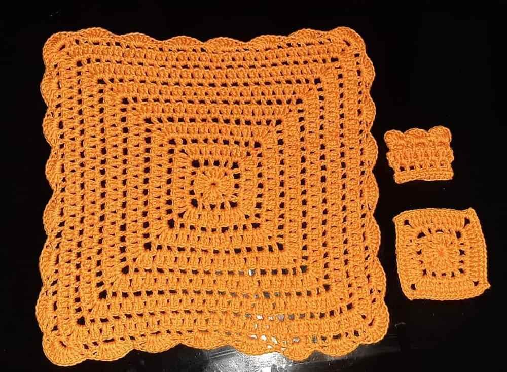 sousplat laranja com porta talheres