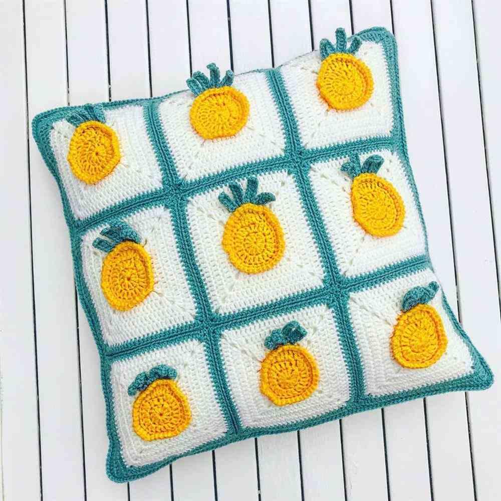 square de abacaxi para almofada