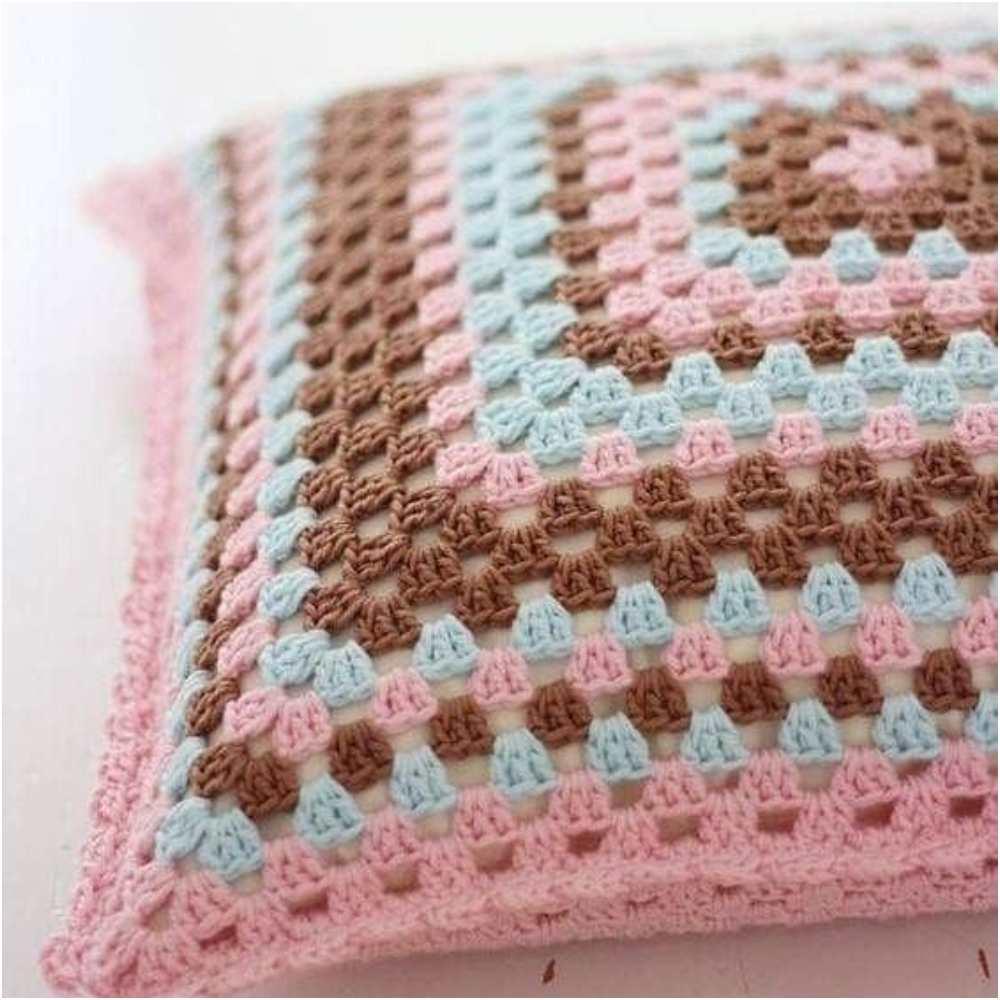 capa de almofada artesanal