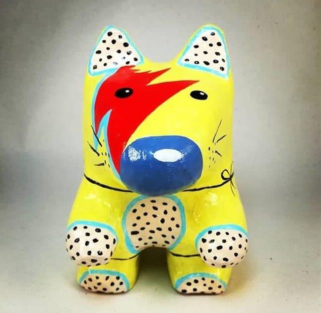 animal de papel machê