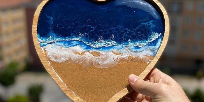 artesanato com resina