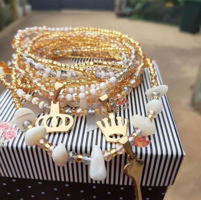 bijuteria com miçanga