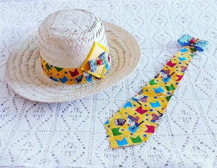 chapeu e gravata