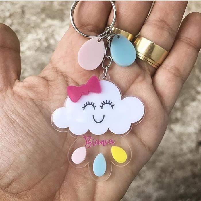 chaveiro nuvem de amor