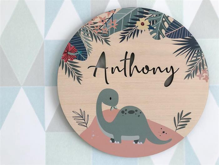 decoração para quarto dinossauro