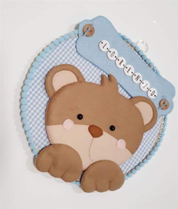 decoração para quarto ursinho