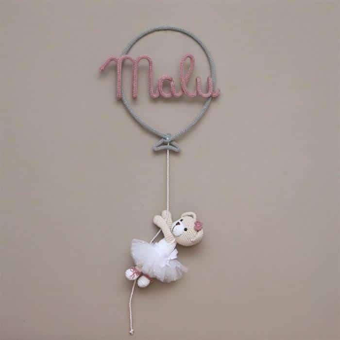 decoração porta da maternidade