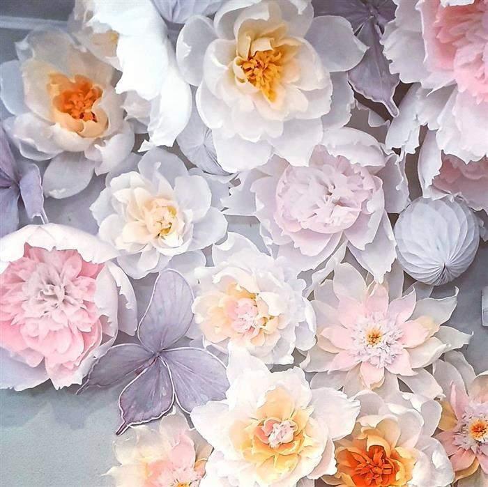 flores claras